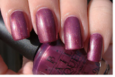Opi 90210 Queen Of West Web-Erly Purple Shimmer Nail Polish Lacquer V16 .5 oz