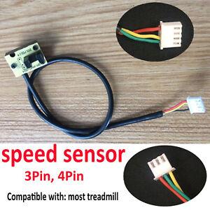 Universal Treadmill Light Sensor Tachometer Speed Sensor 3Pin 4Pin for Treadmill