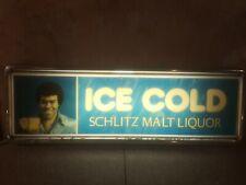 vintage lighted beer sign schlitz