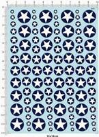 1/144 1/72 1/35 All Scale US Air Force USAF Fighter Star Marking Model Kit Decal