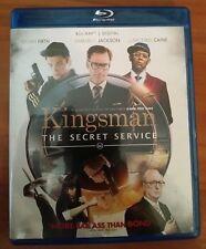 Kingsman: The Secret Service (Blu-ray Disc, 2015) Taron Egerton - No Digital