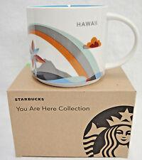 Hawaii Starbucks You Are Here Mug 14 oz 2017 Rainbow New in Box