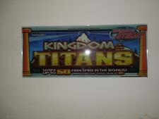 wms williams BB1 Bluebird Glass For KINDOM OF THE TITANS  Chop Top