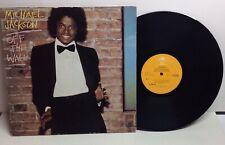 Michael Jackson: Off The Wall - Original 1979 Vinyl LP Album
