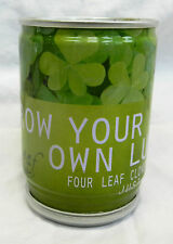 Seeds in a Can - Just Add Water - Four Leaf Clover - Grow your own Luck - BNWT