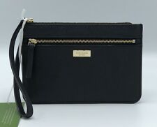 NWT Kate Spade Tinie Laurel Way Black Saffiano Wristlet Retail $119