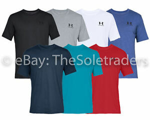 Men's Under Armour UA Sportstyle Left Chest Short Sleeve T Shirt Gym Fitness