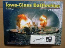 Iowa-Class Battleships On Deck - Squadron/Signal