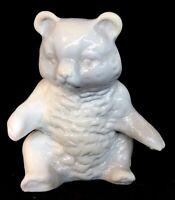 Mosser Art Glass Gray Bear Discontinued Item