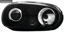 VW Golf IV 4 mk4 R32 look Headlights Clear Black set pair tuning volkswagen