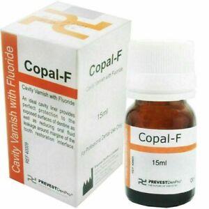 Copal-F Dental Cavity Varnish Permanent Filling Restoration With Fluoride 15ml,!
