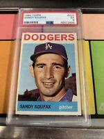 1964 Topps #200 Sandy Koufax PSA 5 HOF Dodgers