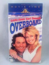 Overboard (VHS 1996) Goldie Hawn, Kurt Russell NEW. Factory sealed.