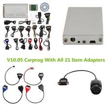 Portable V10.05 Carprog New Version With All 21 Item Adapter Car Programmer Kit