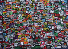 Lot of 25 Sew Iron On Patch Patches RANDOM Band Music Rock N Roll Wholesale Diy