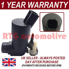 FOR FORD MONDEO MK3/4 2004- FRONT REAR TWIN OUTLET WINDSCREEN WASHER FLUID PUMP