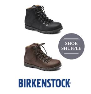 Birkenstock Jackson Unisex Regular Fit Leather Lace Up Boots