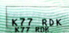 K77 RDK Personalizado No de registro. - En la retención de documentos asignación tarifa pagada