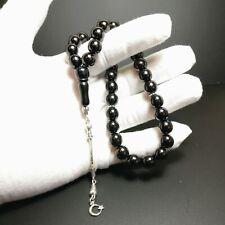 More details for jet worry beads prayer beads gurcu oltu tesbih turkish tasbih tasbeeh subha 442