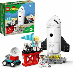 Lego 10944 Duplo Town Space Shuttle Mission Rocket Toy