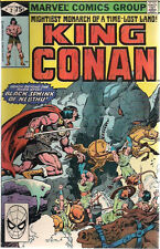 KING CONAN lot of (19) issues #2 to #53 (1980>) Marvel Comics VG+/FINE-