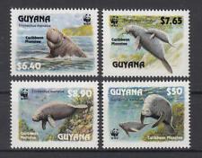 Guyana - Michel-Nr. 4081-4084 postfrisch/** (WWF - Nagel-Manati)