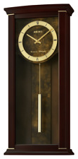 *BRAND NEW* Seiko Elegance & Modern Wall Clock with Pendulum and Chime QXH067BLH