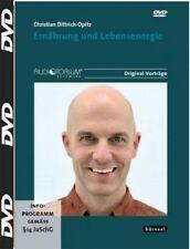 3 DVD, ERNÄHRUNG UND LEBENSENERGIE, Christian Opitz, Befreite Lebensenergie...