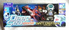 ULTRA RARE DEEP SEA ADVENTURE PLAYSET: GIANT CREATURE. 90´s, BRAND NEW OLD STOCK