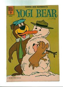 Yogi Bear #7  Dell Comics 1962 Hanna Barbera