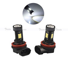2x21 LED H11 White Car Fog Driving Light Canbus Headlight H11B PGJ19-2 Lamp Bulb