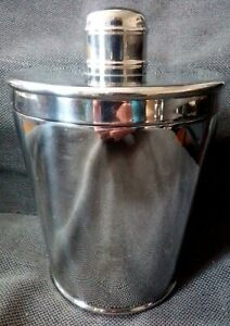 """Stainless Steel Ice Bucket Cooler Double Wall with Lid 8"""" tall Inner Diameter 5"""""""