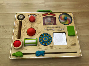 Vintage 1970's Fisher Price Kids Activity Centre Toy Collectable - READ DESC.