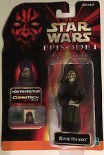 Star Wars Rune Haako Action Figure - Episode I Collection 2 with CommTech Chip