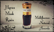 Hyrax Musk Resin - Leather Resinous Scent - Natural Attar / Perfume Oil - 3ml