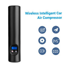 Portable Mini 60W Electric Wireless Car Air Pump Compressor Black For Bike Ball