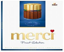 MERCI Finest Selection Assorted Milk Chocolate Sticks 250g 8.8oz