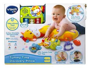 VTech Peek & Play Tummy Time Discovery Pillow - NEW Distressed Box - READ PLEASE