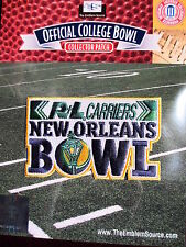 NCAA Cuenco Nuevo Orleans Parche 2012/13 Louisiana-Lafayette East Carolina