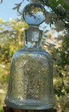 Carafe CHERRY Rocher , Cristal Baccarat ( Année 50-60)