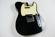 MJT Official Custom Vintage Age Nitro Guitar Body By Mark Jenny VTT Black Bound