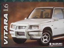 Suzuki Vitara 1.6 range brochure Jun 1996