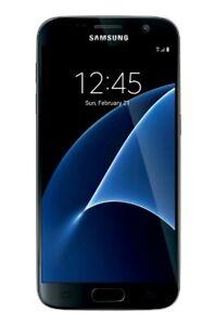 """🔥NEW🔥 Total Wireless Samsung Galaxy S7 5.1""""  32GB 12 MP - Black"""
