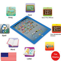 Baby Educational Tablet Toy For 1-6 Year Old Toddler Boys Girls Learning English