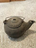 Antique Vintage Cast Iron Phillips & Buttorff Tea Pot Kettle Spout