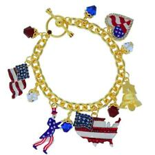 Lunch At The Ritz 4th of July Toggle Bracelet from Esme