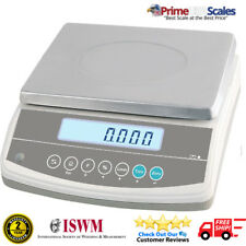 "CITIZEN 12R989 Weighing Scale 30,000g / 30kg / 66 lb x .002 lb 11"" x 8"" Platter"