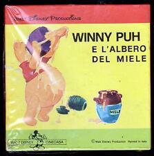 WALT DISNEY WINNY PUH E L' ALBERO DEL MIELE FILM 8MM B/N - WINNIE THE POOH