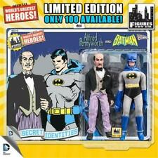 "DC Comics Secret Identities Removable Cowl Batman & Alfred Retro 8"" Figures"