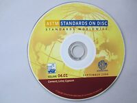 ASTM Volume 04.01 Cement Lime Gypsum 2006 Standards on Disc CD English Printable